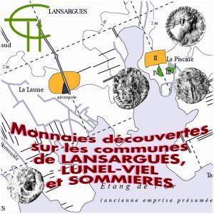 Monnaies découvertes sur les communes de Lansargues, Lunel-Viel et Sommières
