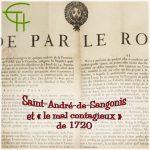 Saint-André-de-Sangonis et le mal contagieux de 1720