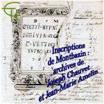 Inscriptions de Montbazin : archives de Joseph Chauvet et Jean-Marie Amelin