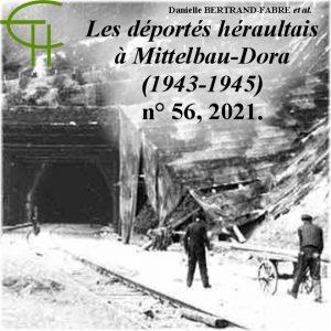 Revue Etudes Héraultaises n°56, Les déportés héraultais à Mittelbau-Dora (1943-1945), Danielle BERTRAND-FABRE et Martine BERQUIÈRE LE BROUSTER