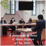 A propos de la thèse d'Alain Alquier <br/>L'occupation allemande dans le département de l'Hérault 11 novembre 1942-23 août 1944