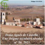 Dona Agnès de Castella – Une énigme séculaire résolue Les origines familiales d'Agnès, <br/>seconde épouse de Guilhem VIII de Montpellier