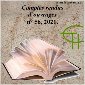 Revue Etudes Héraultaises n°56, Comptes rendus d'ouvrages, Michel-Édouard BELLET