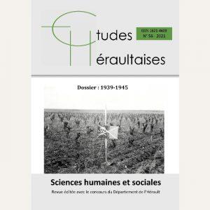 Revue Etudes Héraultaises 2021 n° 56