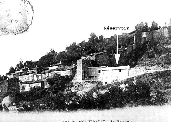 Groupe de Recherches et d'Etudes du Clermontais, 179-181. Vue du Réservoir de Clermont-l'Hérault