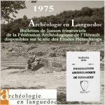 Fédération Archéologique de l'Hérault 1975 <br/>Bulletins de liaison