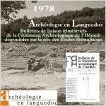 Fédération Archéologique de l'Hérault 1978 <br/>Bulletins de liaison