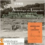 Fédération Archéologique de l'Hérault 1988 <br/>Bulletins de liaison