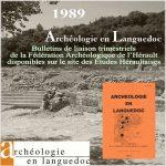 Fédération Archéologique de l'Hérault 1989 <br/>Bulletins de liaison