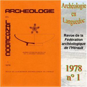 Revue Archéologie en Languedoc 1978-1