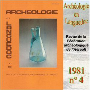 Revue Archéologie en Languedoc 1981-4