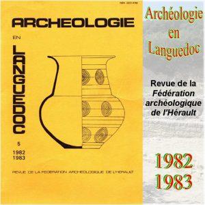 Revue Archéologie en Languedoc 1982-1983