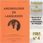 Archéologie en Languedoc 1985 n°4