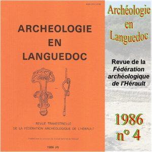 Revue Archéologie en Languedoc 1986-4