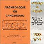 Archéologie en Languedoc 1988 n°4