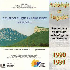 Revue Archéologie en Languedoc 1990-1991