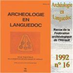 Archéologie en Languedoc 1992 n°16