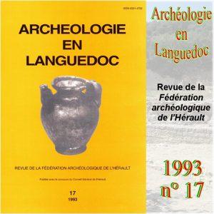 Revue Archéologie en Languedoc 1993-17