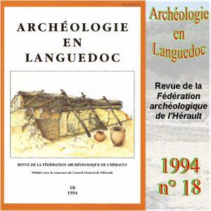 Revue Archéologie en Languedoc 1994-18