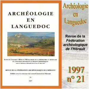 Revue Archéologie en Languedoc 1997-21
