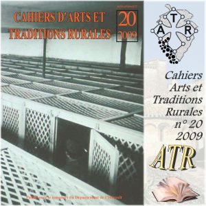ATR 2009-20 cahier d'Arts et Traditions Rurales