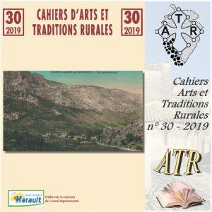ATR 2019-30 cahier d'Arts et Traditions Rurales