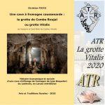 ATR – Cahier 2020 Une cave à fromages caussenarde : la grotte de Combe Roujal ou grotte Vitalis