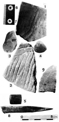 Vestiges de la période chalcolithique