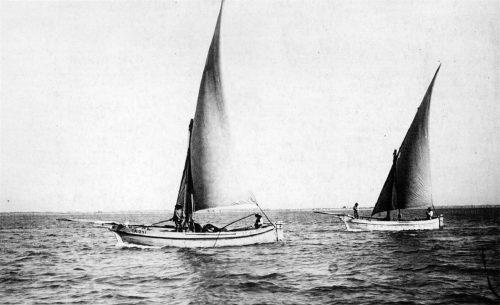 Embarcation typique de la Méditerranée à voile