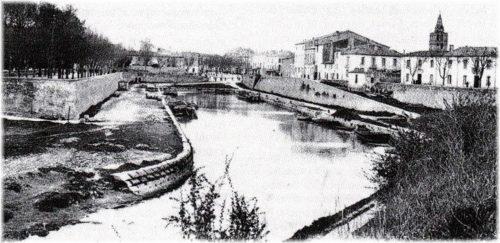 Canal de Lunel, Canal de la Radelle