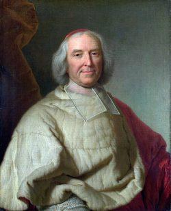 Portrait du Cardinal de Fleury, atelier de Hyacinthe Rigaud, après 1728