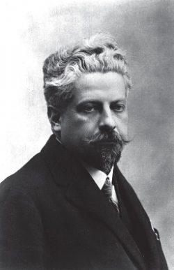 Portrait de Jules Euzière (années 1920)