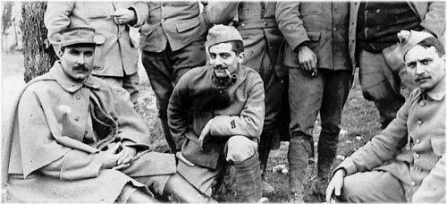 Soldats pendant la guerre de 14-18