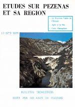 Revue Etudes sur Pézenas et sa région-1971-3