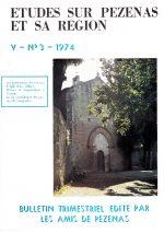Revue Etudes sur Pézenas et sa région-1974-3