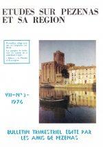 Revue Etudes sur Pézenas et sa région-1976-3
