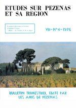 Revue Etudes sur Pézenas et sa région-1976-4