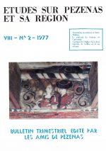 Revue Etudes sur Pézenas et sa région-1977-2