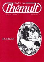 Revue Etudes sur l'Hérault-1985-2