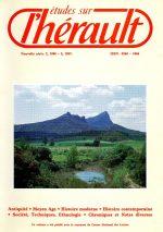 Revue Etudes sur l'Hérault-1986-1987-2-3