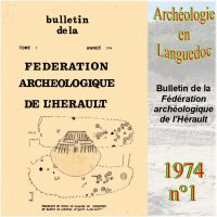 Archéologie en Languedoc 1974-1 Bulletin