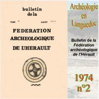 Archéologie en Languedoc 1974-2 Bulletin