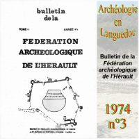 Archéologie en Languedoc 1974-3 Bulletin