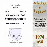 Archéologie en Languedoc 1974-4 Bulletin