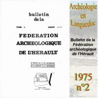 Archéologie en Languedoc 1975-2 Bulletin