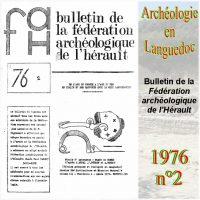 Archéologie en Languedoc 1976-2 Bulletin