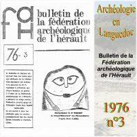 Archéologie en Languedoc 1976-3 Bulletin