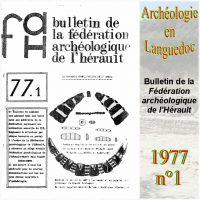 Archéologie en Languedoc 1977-1 Bulletin