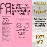 Archéologie en Languedoc 1977-2 Bulletin