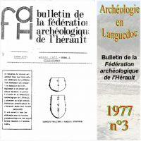 Archéologie en Languedoc 1977-3 Bulletin